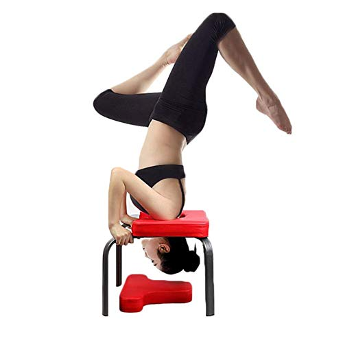 Peitten Kopfstandbank Inversion Hocker Aids Workout Chair Upside Down Chair Multifunktionale Sport Trainingsbank Fitnessgeräte für Stressabbau Bodybuilding