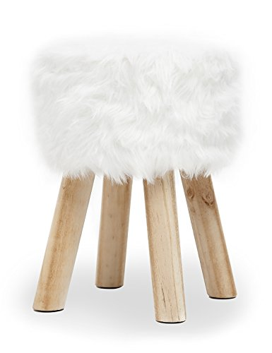 Designer hocker mit besonderem design - Kunstfell fur stuhl ...