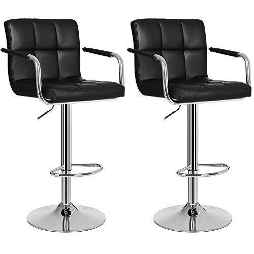 stylische leder barhocker. Black Bedroom Furniture Sets. Home Design Ideas