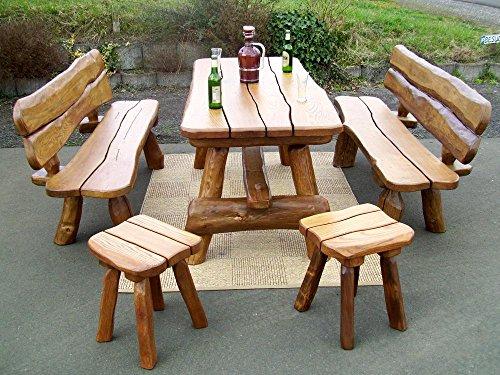 Hocker aus massiver eiche ge lt natur oder s gerau kaufen - Stuhl aus pappe ...