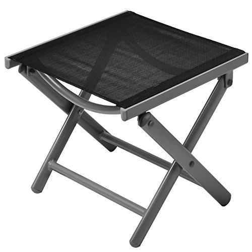 schicker klapphocker alu aus aluminium. Black Bedroom Furniture Sets. Home Design Ideas