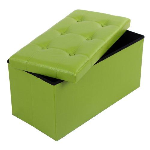 schicke leder sitzw rfel schwarz. Black Bedroom Furniture Sets. Home Design Ideas