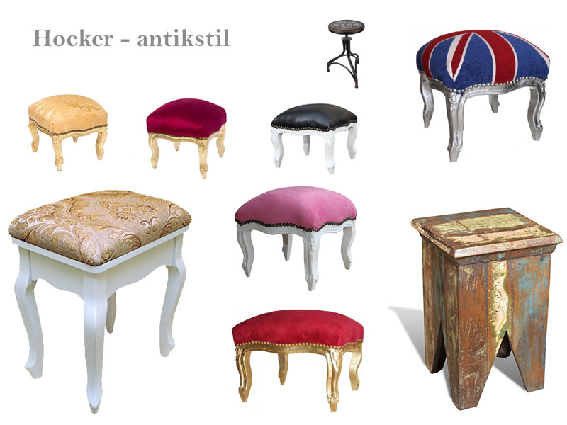 Antik Hocker
