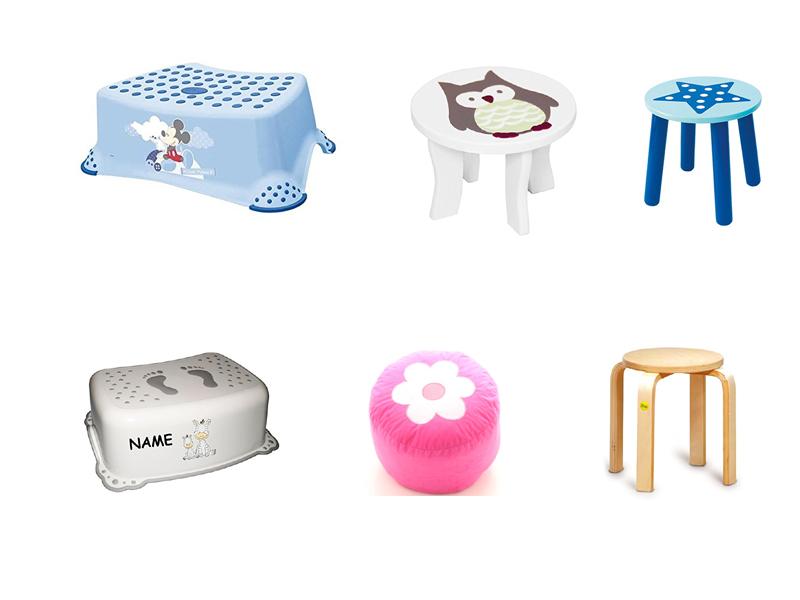 kinderhocker holz kunststoff oder polster. Black Bedroom Furniture Sets. Home Design Ideas