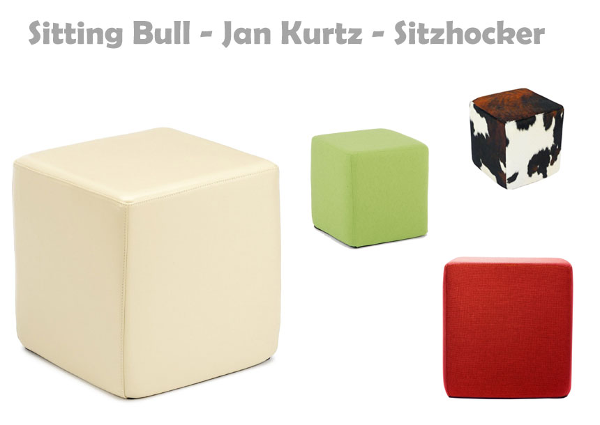 Sitting Bull Hocker von Jan Kurtz